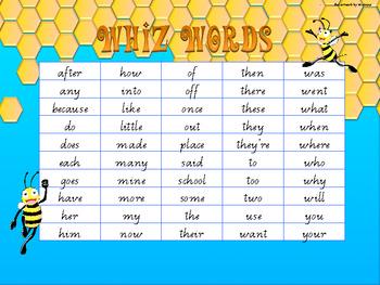 Whiz Words