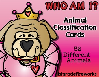 Who AM I?  Task Card GAME