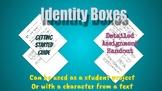 Identity Box Project (w/ Peer Critique, Rubric, & Self Assessment)