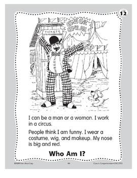 Who Am I? A Clown