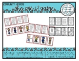 Who Am I? A Community Helpers Game