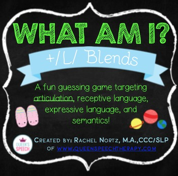 Who Am I? A Describing Game {/L/ Blend Edition}