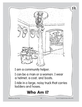 Who Am I? A Firefighter