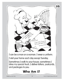Who Am I? A Mail Carrier