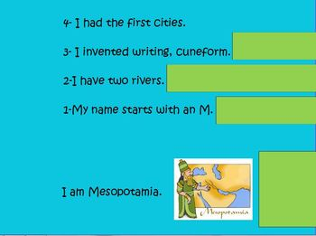 Who Am I? A World History Review Game