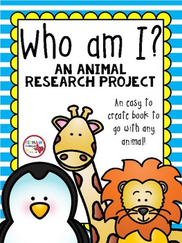 Who Am I? Animal Research Project Book