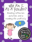 Who Am I As A Reader?~Reading Life activities & a Reading