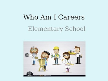 Who Am I Careers Elementary School