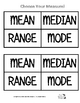 Who Am I? (Central Tendencies and Range)