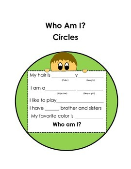 Who Am I Circles in English