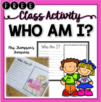 End of the Year Activity - Who Am I?