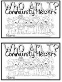 Who Am I Community Helper Emergent Reader