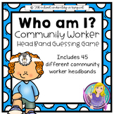 Who Am I? Community Worker Head Band Guessing Game