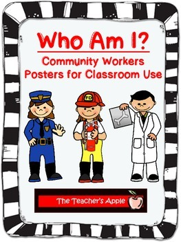 Who Am I? Community Workers Posters