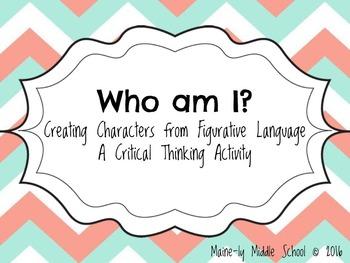 Who Am I? Creating Figurative Language Characters