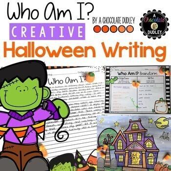 Who Am I? Creative Halloween Writing and Craftivity