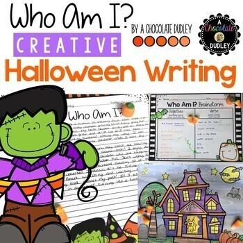 Who Am I? Creative Halloween Writing and Craftivity
