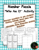 Mystery Number Task Cards with Divisibility Rules Extensio