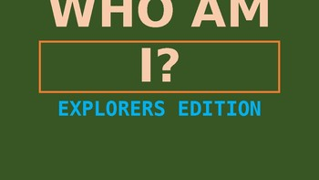 Who Am I? Explorers Edition