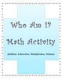 Who Am I? - First Day and Weekly Activity