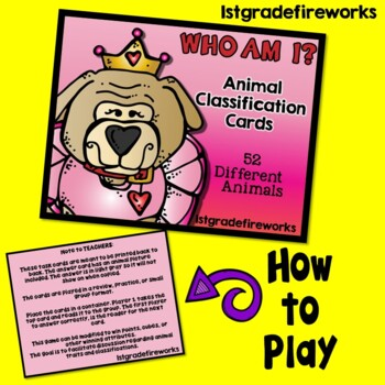 Who Am I? Flap book Game
