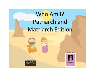 Who Am I Game - Patriarch and Matriarch Edition