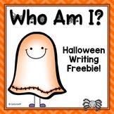 Who Am I?  Halloween Writing Freebie