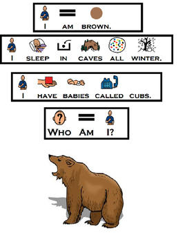 Who Am I? I'm A Zoo Animal Color Flap book & BW printable (Speech, Autism)