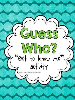 Get to Know Me Icebreaker Activity