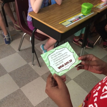 Who Am I?  Important People in History Game - 5th Grade