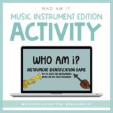 Who Am I? Instrument Activity for Google Slides™ | Distanc