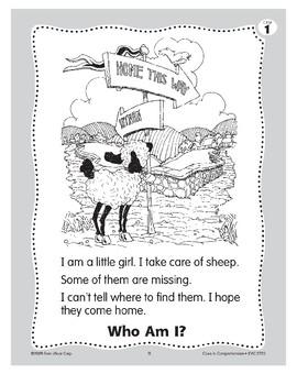 Who Am I? Little Bo Peep