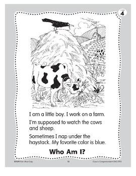 Who Am I? Little Boy Blue