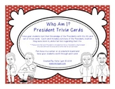 Who Am I? President Trivia Cards with QR Codes