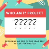 End of the Year Self-Assessment--Who Am I? Project