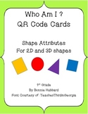 Who Am I? QR Codes for Shape Attributes