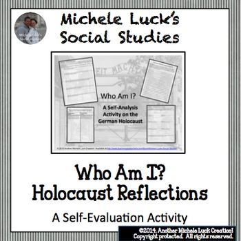 Holocaust Reflection Activities