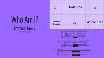Who Am I - Rhythms Level 2