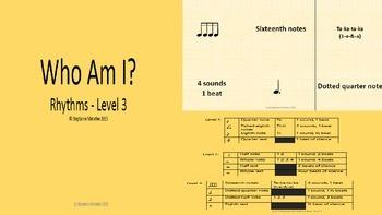 Who Am I - Rhythms Level 3