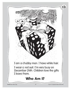 Who Am I? Santa Claus