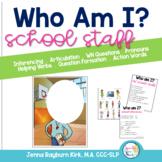 Who Am I? School Staff Edition