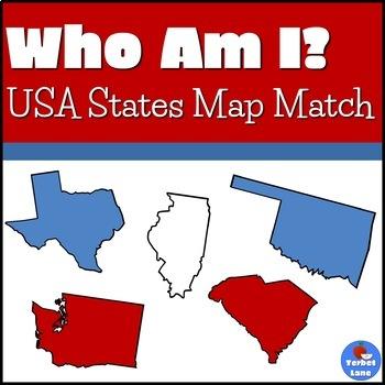 US States Map Game by Terbet Lane | Teachers Pay Teachers