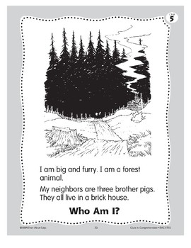 Who Am I? The Wolf (of The Three Little Pigs)