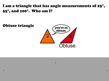 Who Am I? - Triangles
