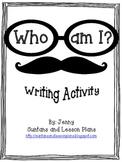 'Who Am I' Writing Activity