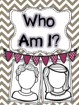Who Am I? (an open house activity)