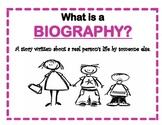 Who Am I....A Biography Unit