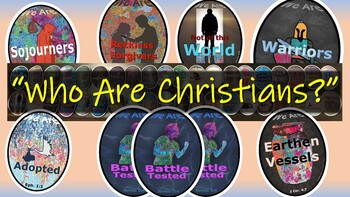 Who Are Christians? 40 Bible metaphors w/ scriptural context, analysis & visuals
