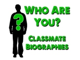 """""""Who Are You?"""" - Classmate Wikipedia Biographies"""