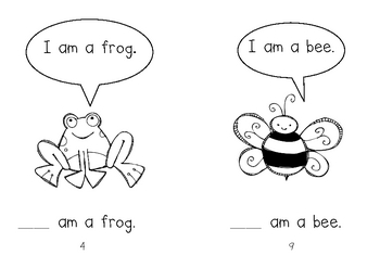 Who Are You? Early emergent reader